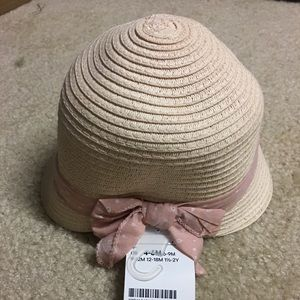 H&M Accessories - Baby girl straw hat Easter hat ❤️
